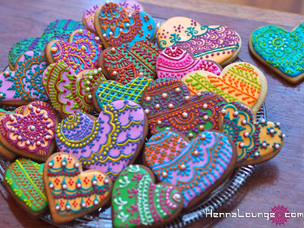 Mehndi Cakes By Henna Lounge