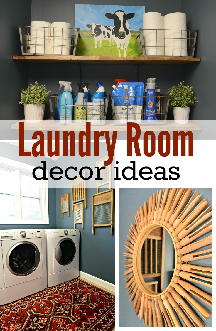 Laundry Room Makeover Reveal — Decor and the Dog on Laundry Room Decor Ideas  id=96379