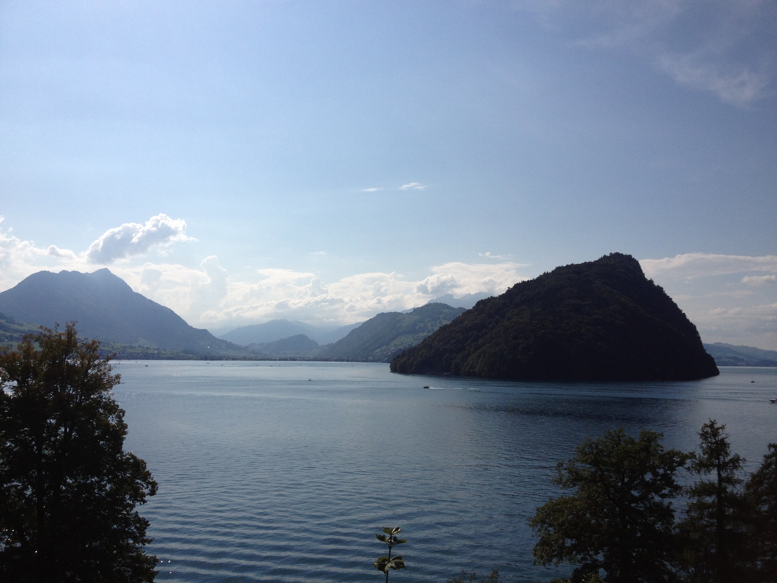 A view of the Vierwaldstättersee