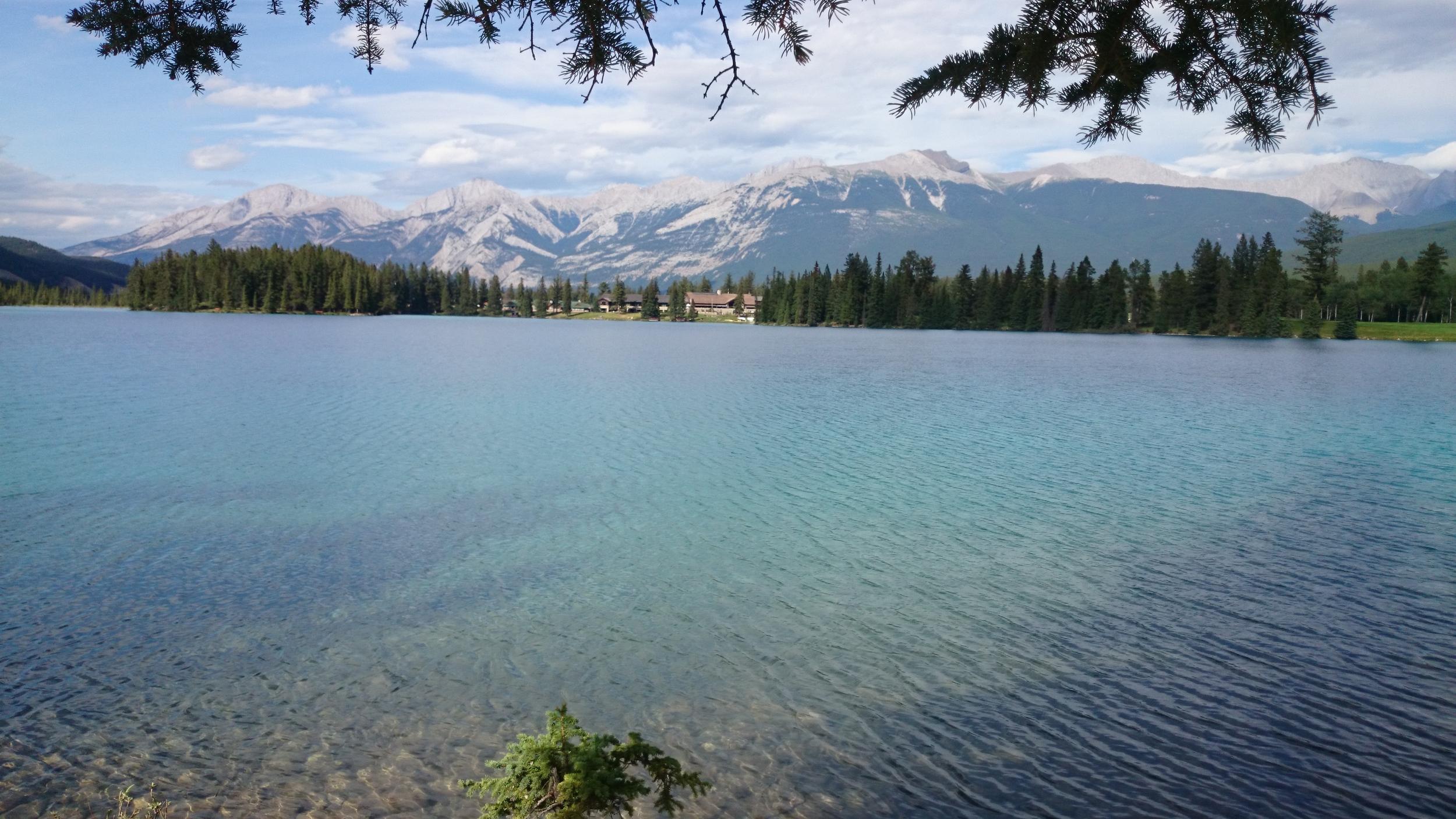 Lake Beauvert, Jasper National Park
