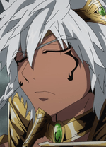 why do black people in anime manga have white hair short pause