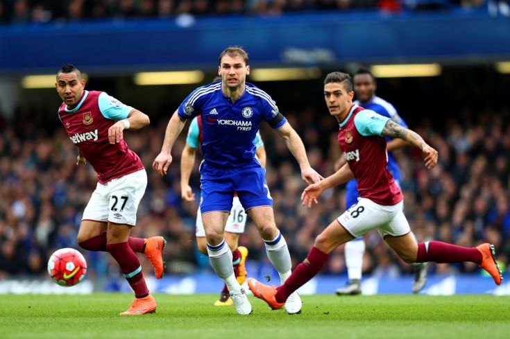 Image result for Photos of west ham united VS chelsea