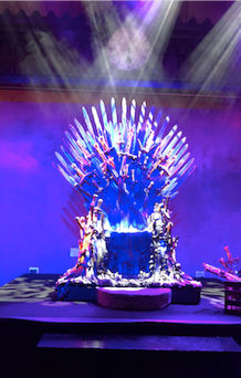 """The Iron Throne a la """"Game of Thrones"""""""