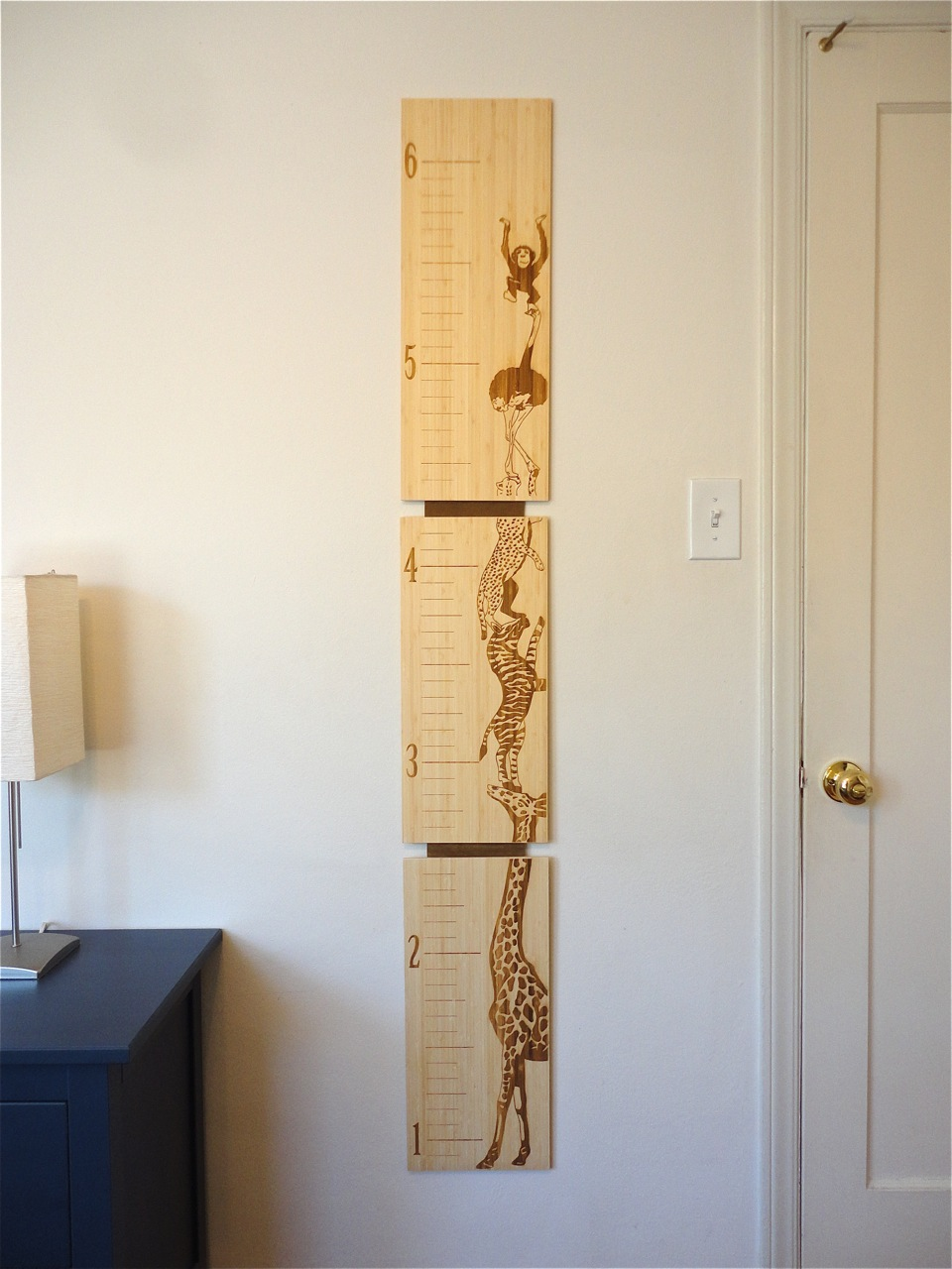 Bamboo Growth Charts For Kids Robby Cuthbert Design