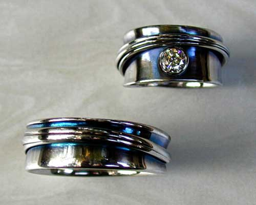 Unique And Unusual Wedding Rings Custom Made To Order
