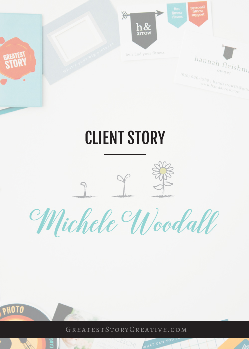 Creative Business Cards for Life Coach, Michele Woodall — Greatest ...