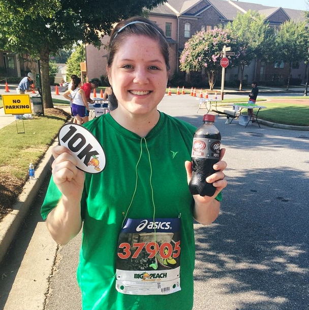 Proof that I finished my 10k!