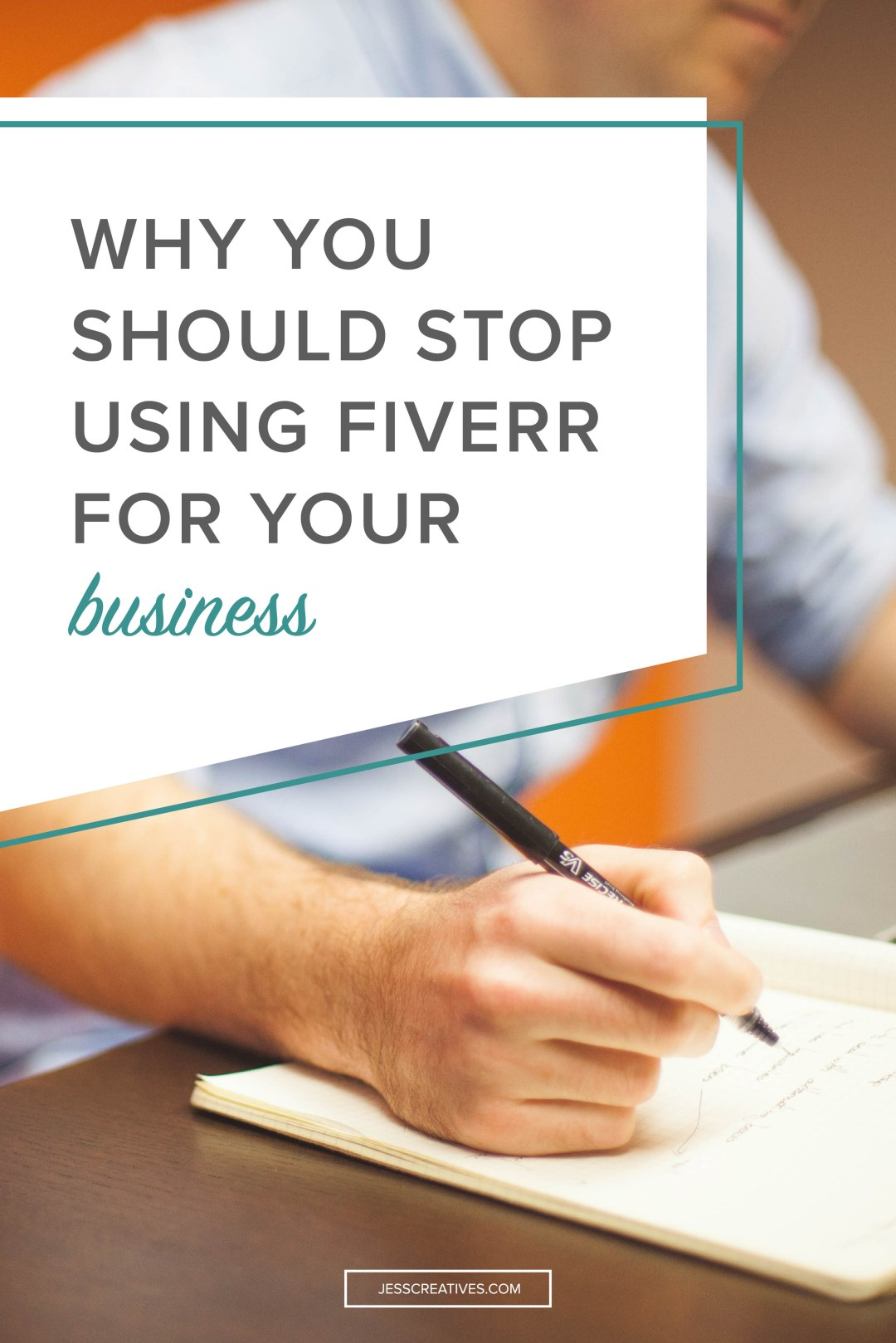 Why you should stop using Fiverr for your business — Jess Creatives