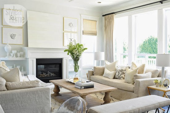 Mixing White And Beige The Decorista