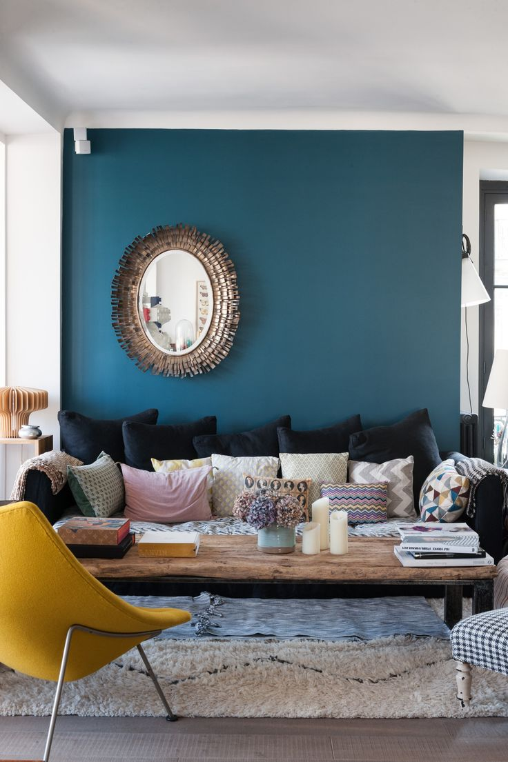 Parisian Style Decorating With Moody Color Palettes