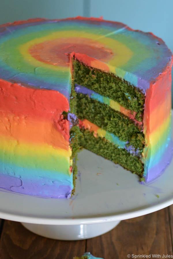 Light Red Velvet Cake