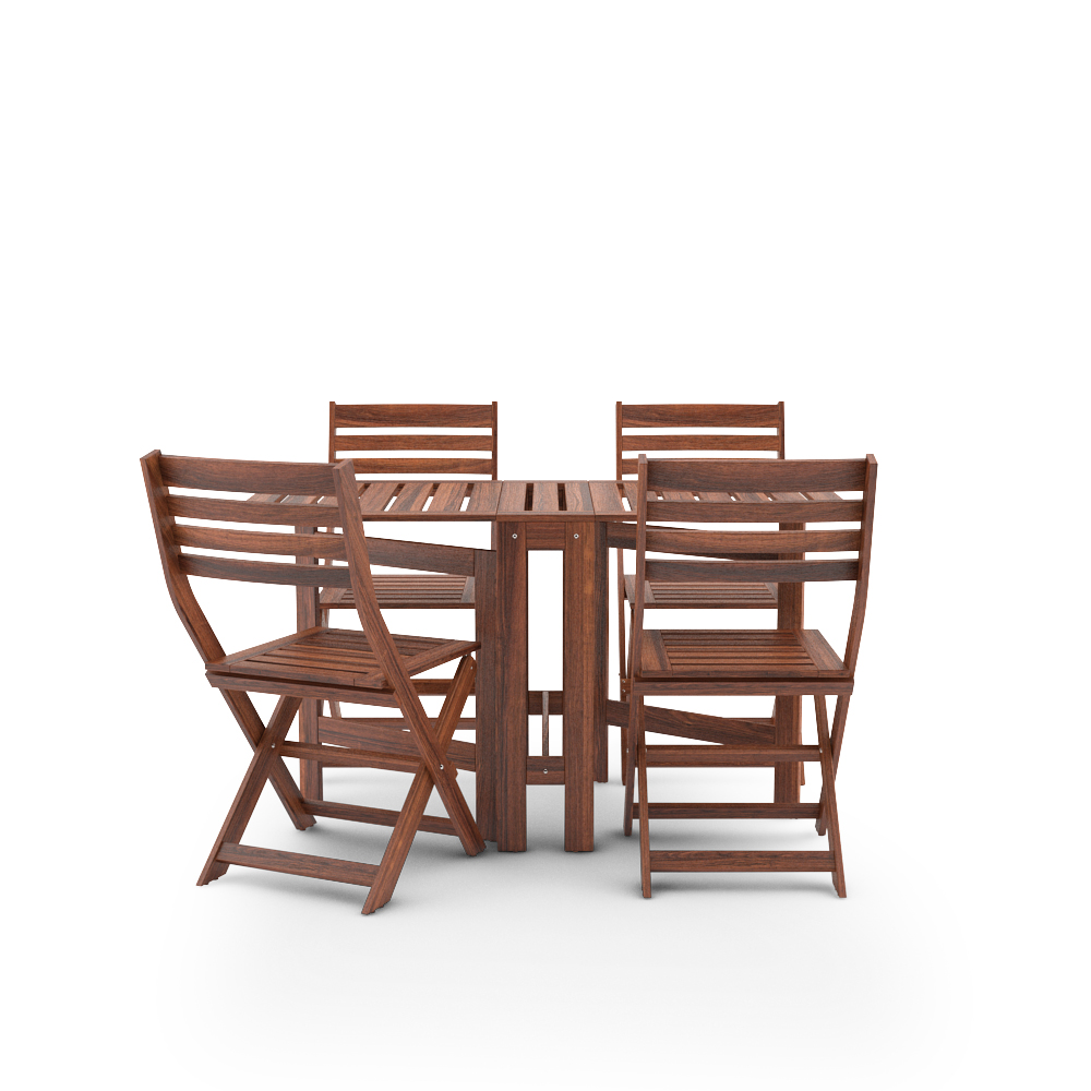 Ikea Applaro Set Table And  Chairs