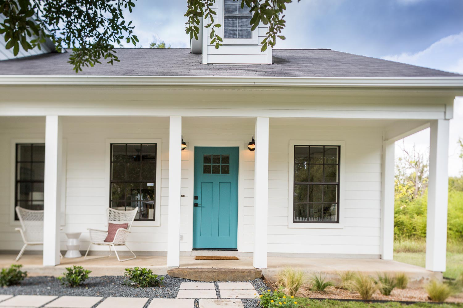 East Austin Modern Farmhouse Just Completed Making