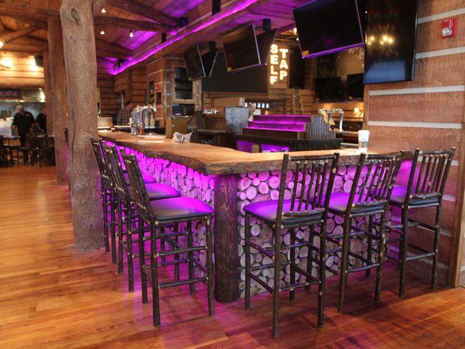 Rustic Restaurant Bar Stools