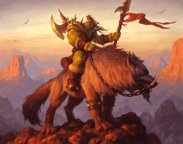 Image result for Orc artwork