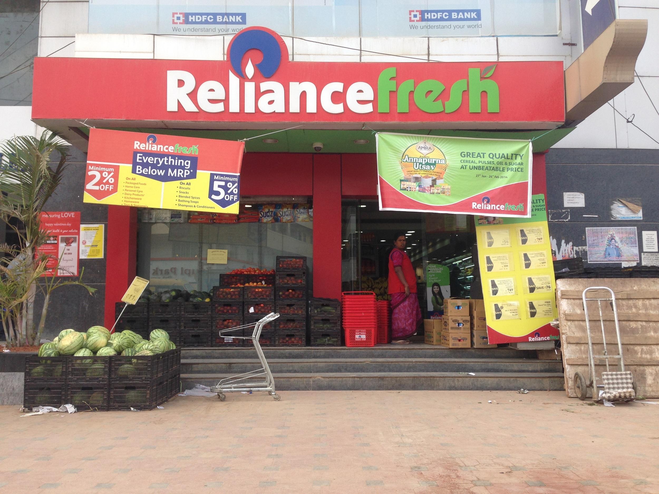 Reliance Fresh Juhu Address