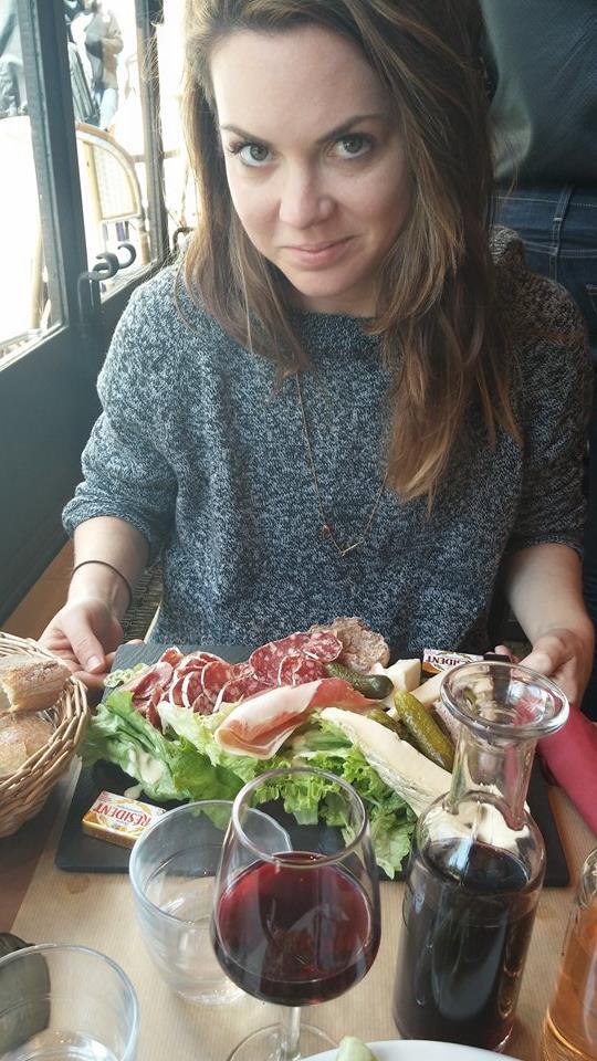Charcuterie et Fromage plate at La Fourmi