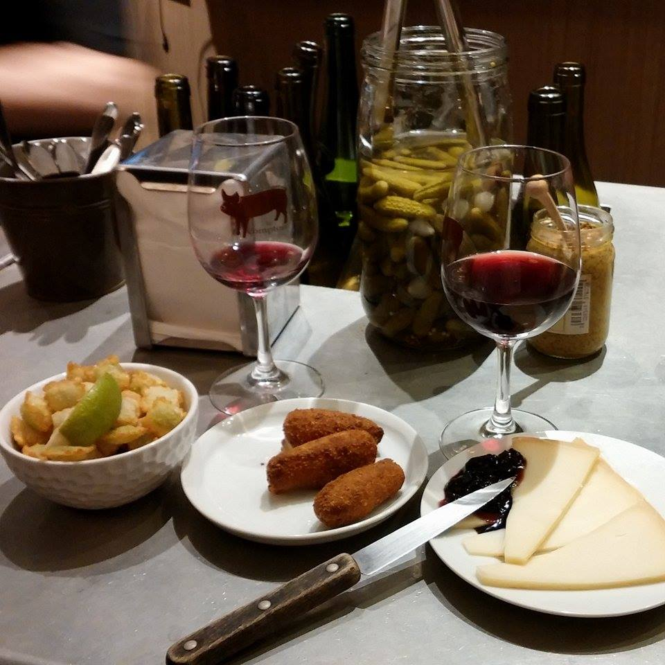 L'Avant Comptoir // Lime Ravioli, Croquettes, Fromage
