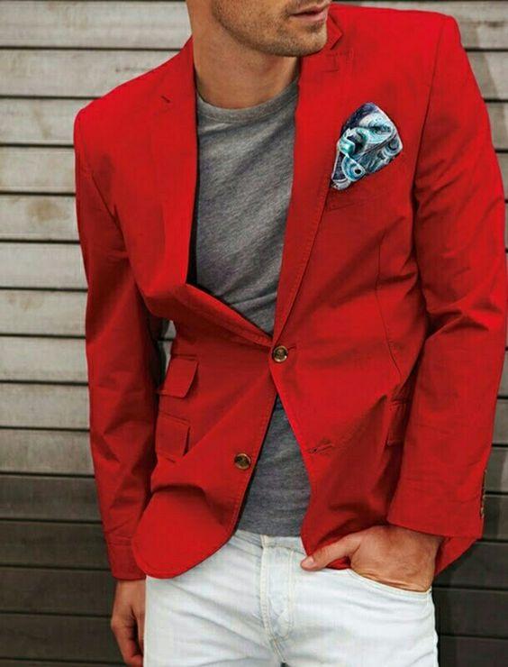 Red Pocket Back Bandana
