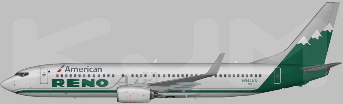 Rendering of the Reno Air scheme. Thanks to Kyle Meeks for what the jet might look like!