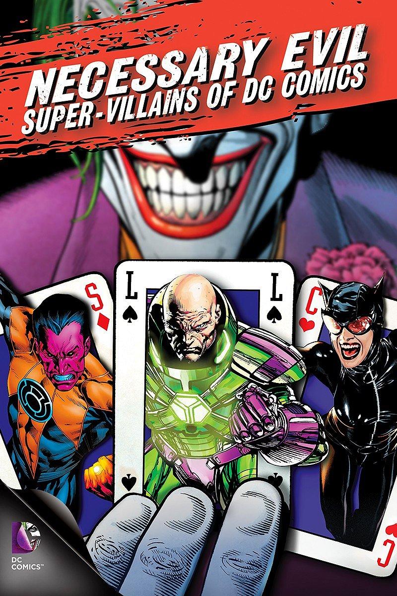Poster do filme Necessary Evil: Villains of DC Comics
