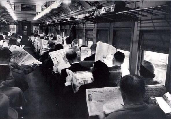 """""""All this technology is making us antisocial. Before everyone used to talk to each other."""" @M_Ullah The truth hurts. But then there's this."""