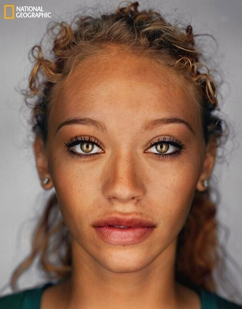 What the average American will look like in 2050.