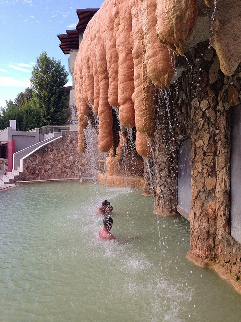 Cotton Castle on Flickr. Via Flickr: Hot springs in Pamukkale, Turkey