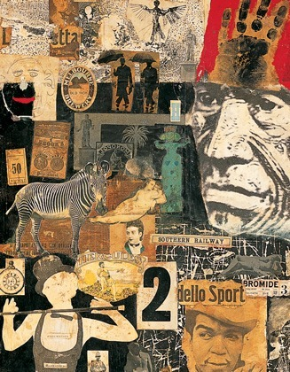 Collage has been at the centre of artistic practice since the beginning of the twentieth century. In its simplest form, whether pasted, painted, assembled or constructed, the technique represented a radical restructuring of the pictorial tradition. Through Surrealism and Pop Art, it evolved from a marginal and purely synthetic process to become an intrinsic part of the modern aesthetic. Mixing and matching.