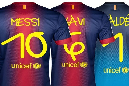 "Great story: ""Barcelona kit for Santos match to feature unique lettering created by artist with Down Syndrome"""