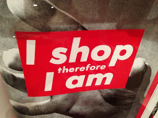 I shop therefore I am on Flickr. Sounds like an old American mantra with new Chinese undertones.
