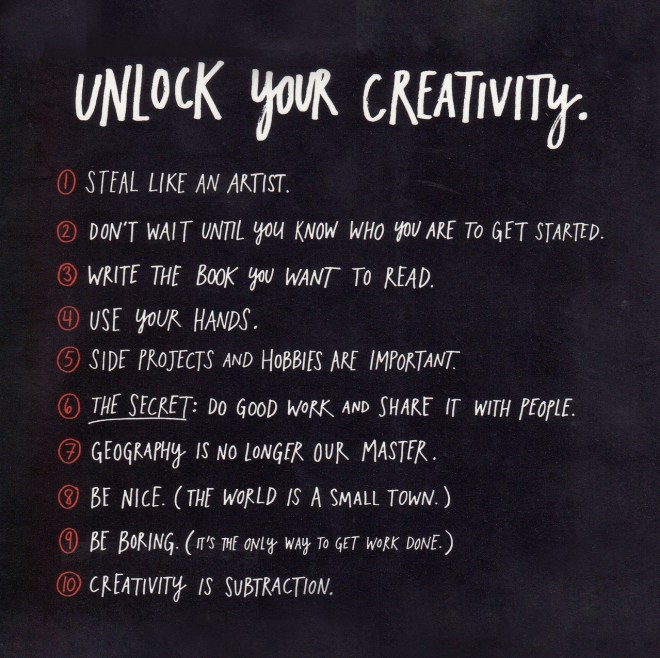 Here's a 70 year old Creativity Technique that also works.