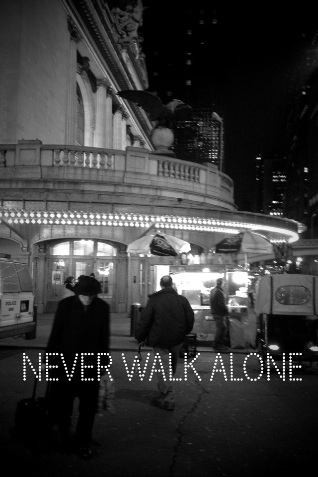art-dacity: Never Walk Alone
