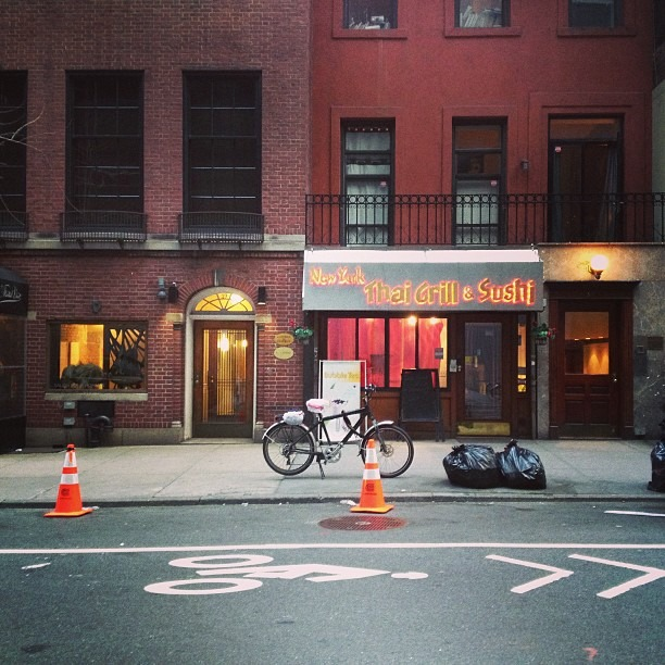 Mission Bicycle (at Topaz Thai)