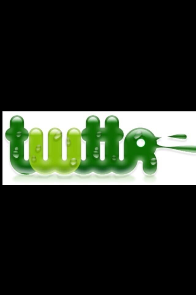 """Twitter's original logo when it launched 7 years ago today. The first tweet: """"just setting up my twttr."""" - @Jack"""