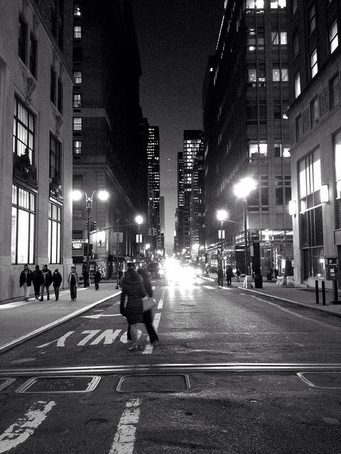 42nd Street, Toward the Hudson on Flickr.