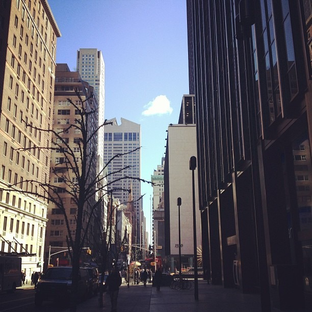 One cloud (at 1345 Avenue of the Americas)