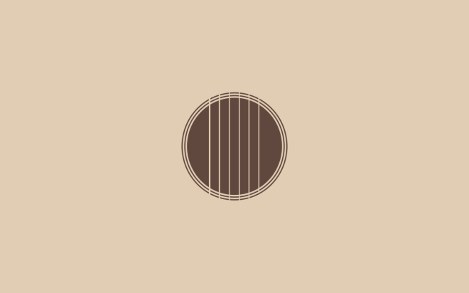 Simple guitar wallpaper for your desktop by João Colombo. Download