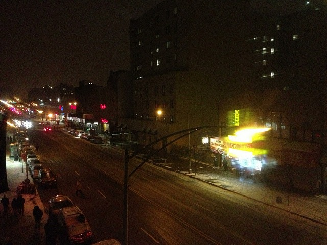 Harlem on Flickr. Harlem, Snowy Night