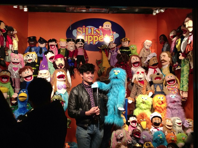 Silly Puppets on Flickr.