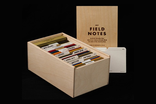 Just bought this Archival Wooden Box by Field Notes to store a bunch of homekeeping folders and Moleskines.   Might as well be fashionable and classy if you're going to keep stuff organized.