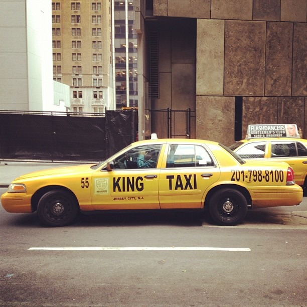 KING Taxi (at MoMA Offices)