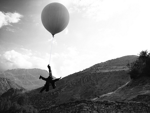 Journey to the Moon (balloon) Kutlug Ataman by deBuren on Flickr.