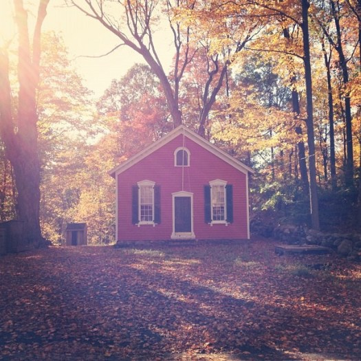 Perfect day for the Walden filter #Fall (at Little Red Schoolhouse)