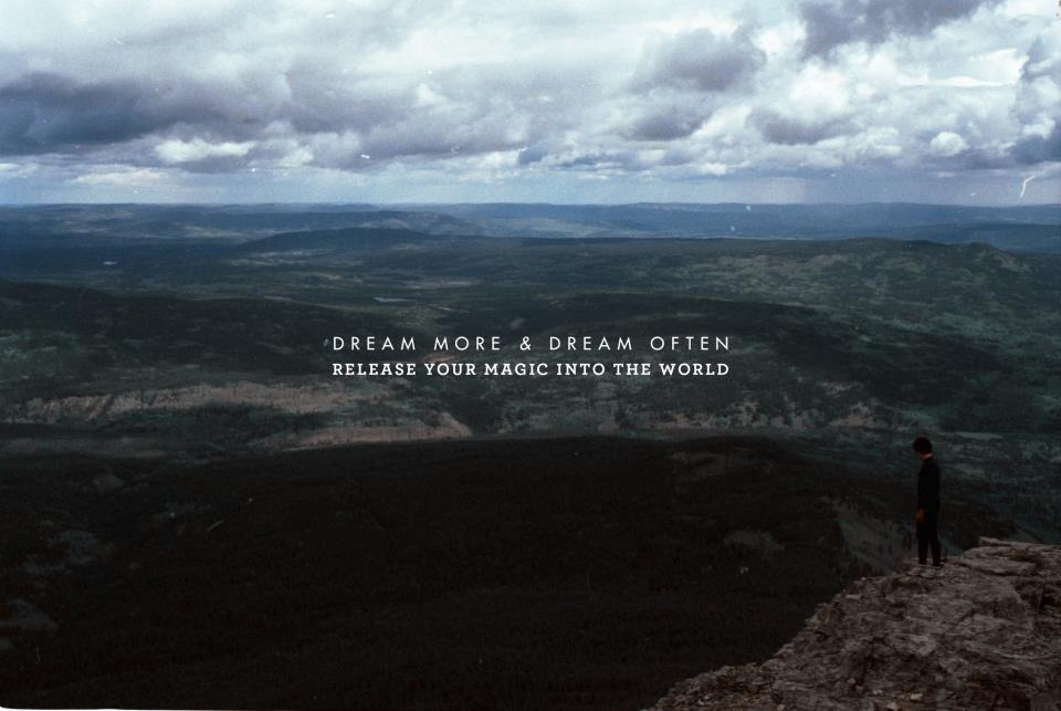 Dream more and dream often, release your magic into the world. Can't wait to climbevr.st.
