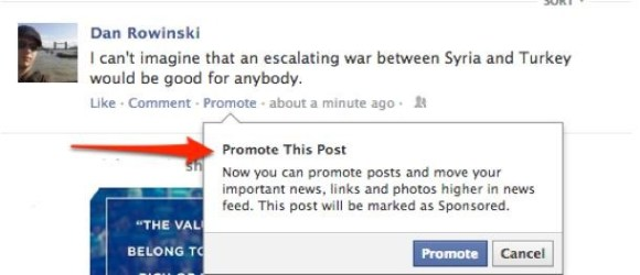 Promoted posts for laymen. Right out of the Tumblr handbook. $7 per post.