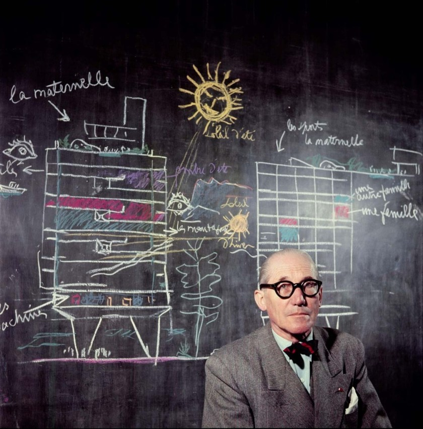 uncube: Le Corbusier by Willy Rizzo