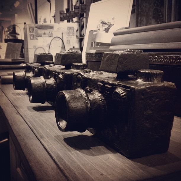 Still cameras. Literally. (Taken with Instagram)