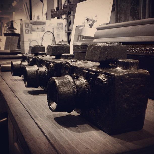 Still cameras. Literally. (Taken with Instagram)