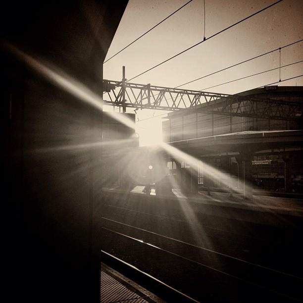 Taken with Instagram at Track 4 - Stamford Metro North Station